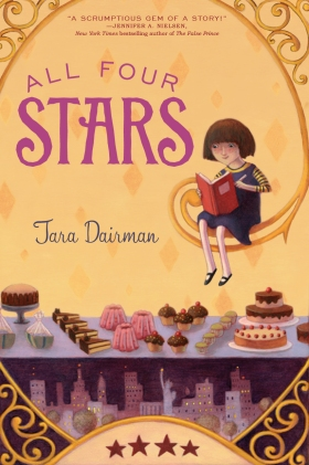 ALL FOUR STARS by Tara Dairman cover