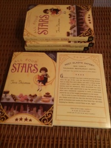 ARCs of ALL FOUR STARS!