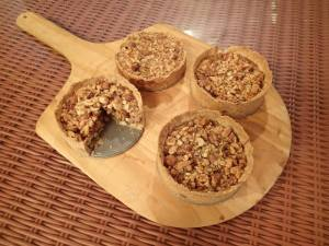 Sneak peak: Tree nut tarts