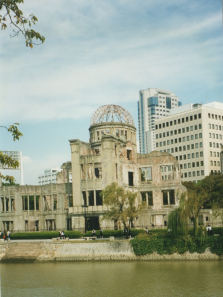 Straight from the old photo album: Genbaku Dome, Hiroshima, Japan