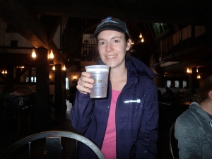 Tara with Butterbeer