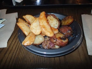 Potatoes at The Three Broomsticks