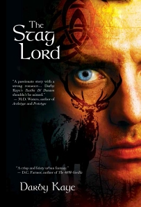 The Stag Lord cover with blurbs