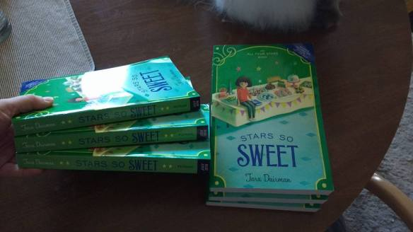 ARCs of STARS SO SWEET by Tara Dairman