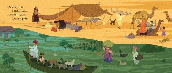 illustration 2 from Desert Girl, Monsoon Boy by Tara Dairman and Archana Sreenivasan